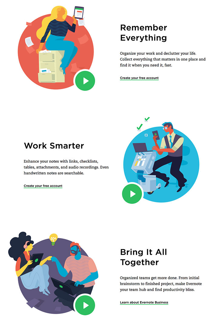 Evernote Doubles